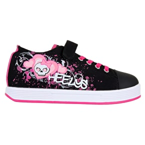 Heelys X2 Spiffy - Black/Pink/Monster