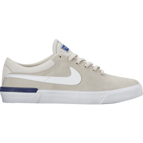 Nike SB Koston Hypervulc Skate Shoes - Light Bone/White