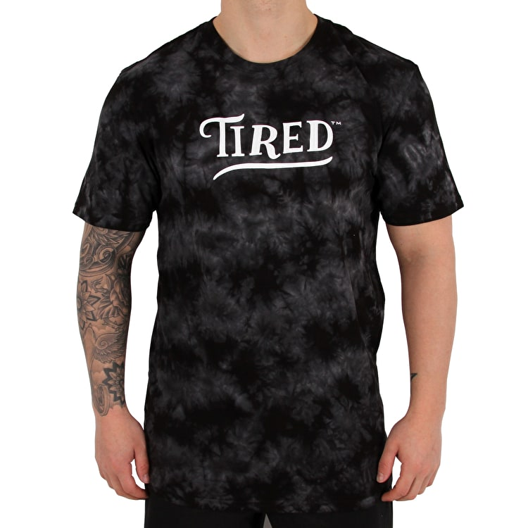 Tired Swoop T shirt - Black