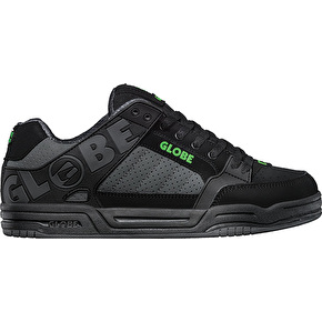 Globe TIlt Skate Shoes - Black/Camo/Moto Green