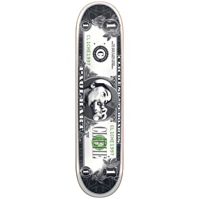 Cliche Dollar Bill Pro R7 Skateboard Deck - Hart 8