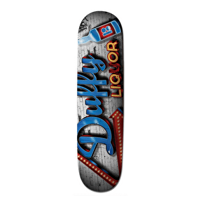 Plan B Store Front Skateboard Deck - Duffy 8.25