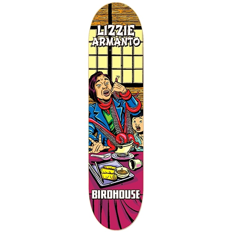 Birdhouse Mexipulp Pro Skateboard Deck - Armanto 7.875""