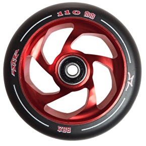AO Delta 5 Hole 110mm Wheel incl Bearings - Red