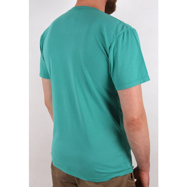 Huf Tourist T-Shirt - Bright Aqua