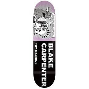Toy Machine Carpenter Tract Pro Skateboard Deck - 8.25
