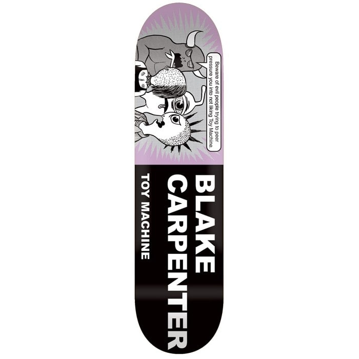 Image of Toy Machine Carpenter Tract Pro Skateboard Deck - 8.25""