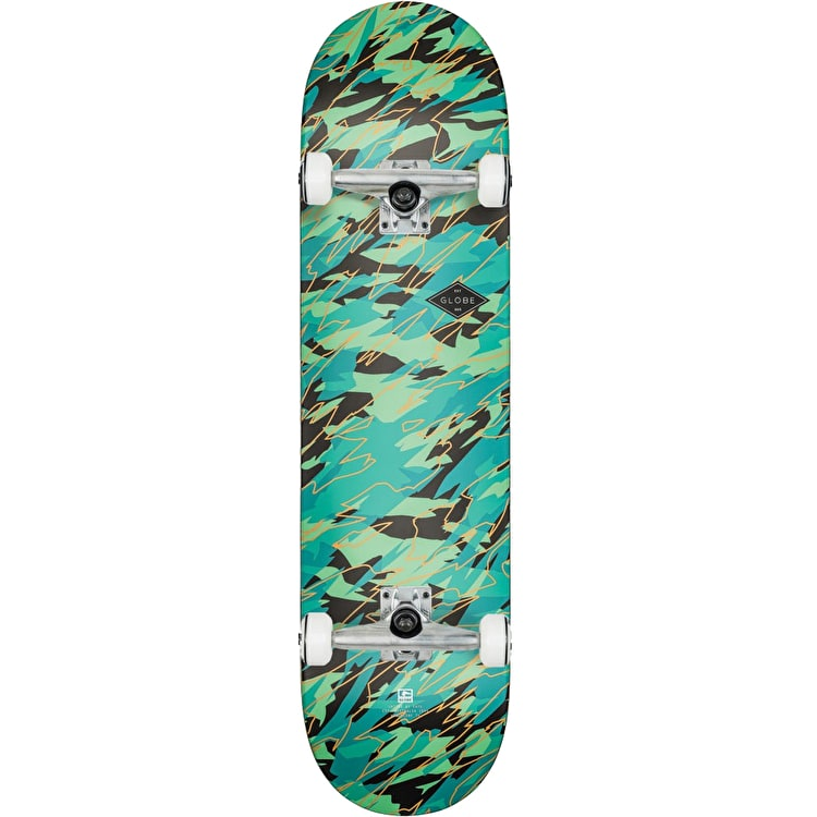 Globe Full On Complete Skateboard - Watershed 8.0""