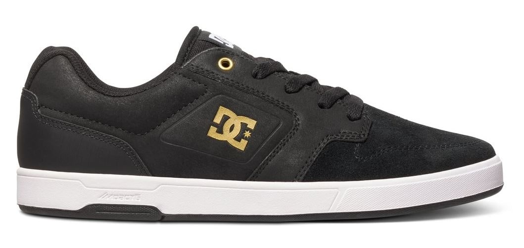 Image of DC Argosy Skate Shoes - Black/Gold