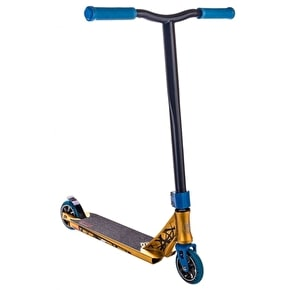 B-Stock Crisp Inception 2016 Complete Scooter - Gold Anodized/Blue (scratched)