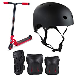 MGP VX7 Pro Red Stunt Scooter Bundle