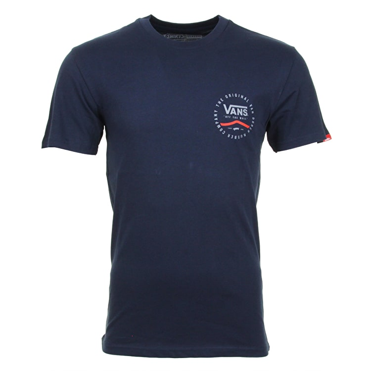 Vans Original Rubber Co T-Shirt - Navy
