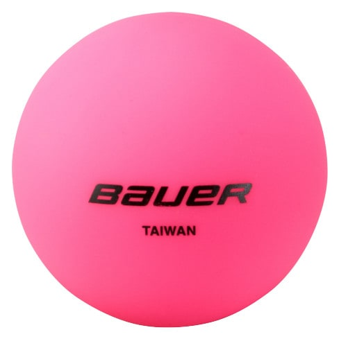 Image of Bauer HydroG Cool Weather Hockey Ball - Pink