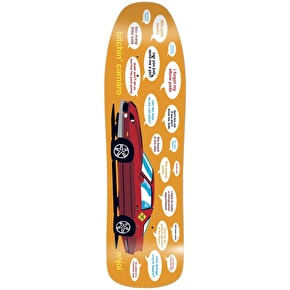 Enjoi Skateboard Deck - Bitchin' Camaro 90 R7 Orange 9