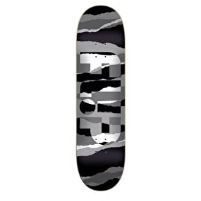 Flip Odyssey Tom Grayscale Skateboard Deck - Black/White 8.25