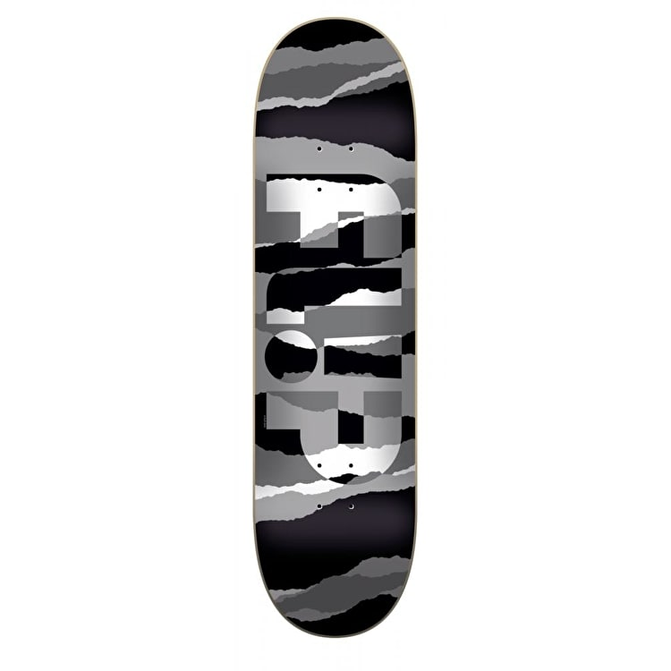 Flip Odyssey Tom Grayscale Skateboard Deck - Black/White 8.25""
