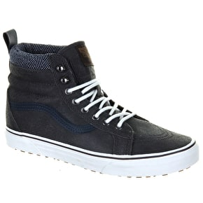 Vans Sk8-Hi Shoes - (MTE) Charcoal/Herringbone