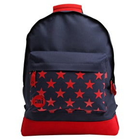 Mi-Pac Backpack - Stars Navy/Red