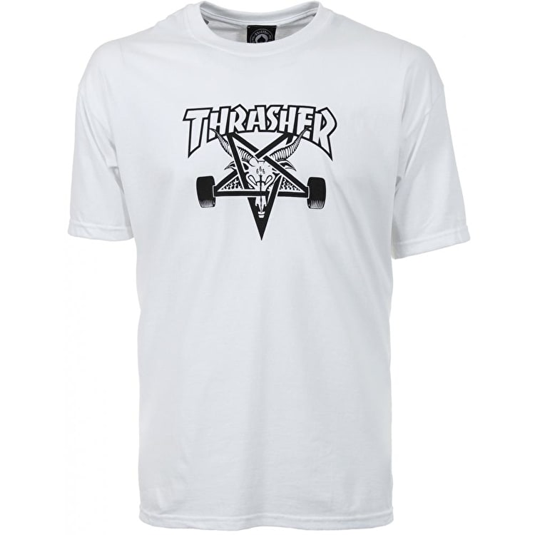 Thrasher Skategoat T shirt - White
