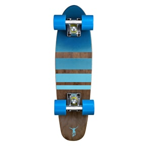 Ridge Mini Cruiser Skateboard - Number Three Dark Dye/Blue 22