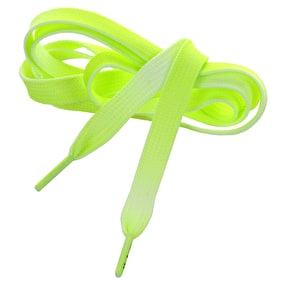 Mr Lacy Shoelaces - Fadies Neon Lime with Neon Lime Tip