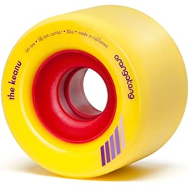 Orangatang Keanu 66mm Longboard Wheels (Pack Of 4)