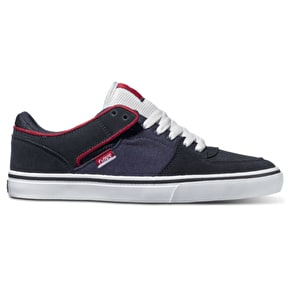 DVS Torey Lo Shoes - Navy/White Suede