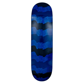 Polar Skateboard Deck - Halberg - Some Noses Are Bigger Than Others- Black/Blue - 8.5