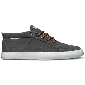 DVS Rivera Shoes - Charcoal Canvas