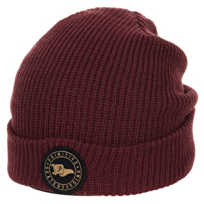 Primitive Circle Pennant Beanie - Burgundy