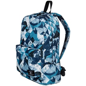 DC Bunker Print Backpack - Blue Geo Rusto