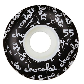 Chocolate All Over Chunk Staple 99a Skateboard Wheels - 55mm