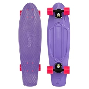 Penny Nickel Complete Skateboard - Purple/Pink 27