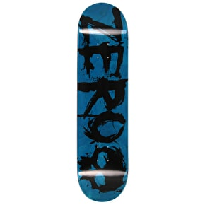 Zero Blood Skateboard Deck - Black/Blue - 8