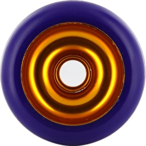 Eagle Gold core Purple Pu Metal Core wheel - 100mm