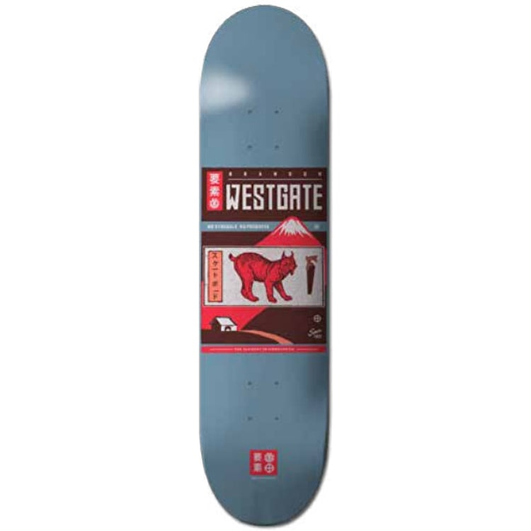 Element Cover Skateboard Deck - Westgate 7.7""