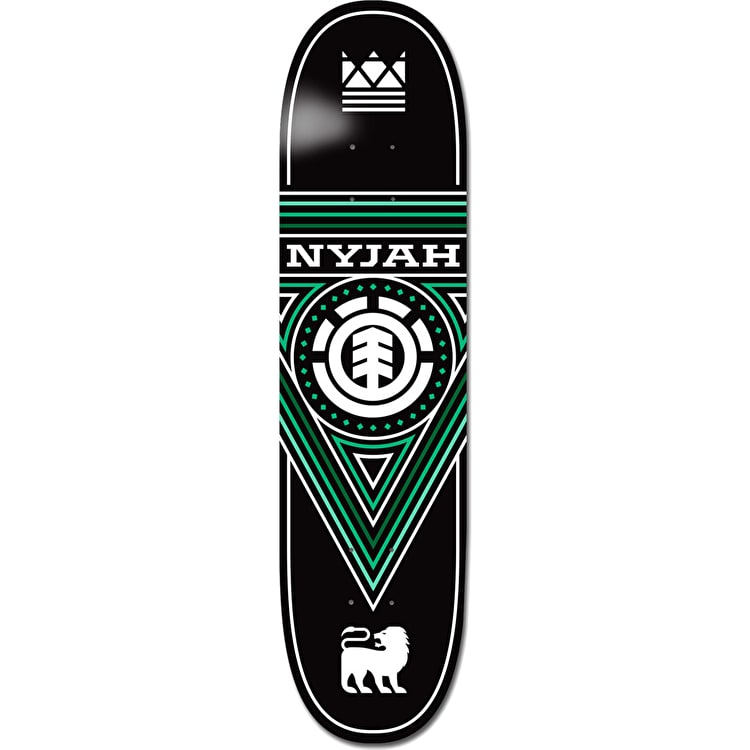 Element TWIG Nyjah Triangle Skateboard Deck - 7.6""