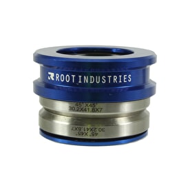 Root Industries Tall Stack Integrated Scooter Headset - Blue