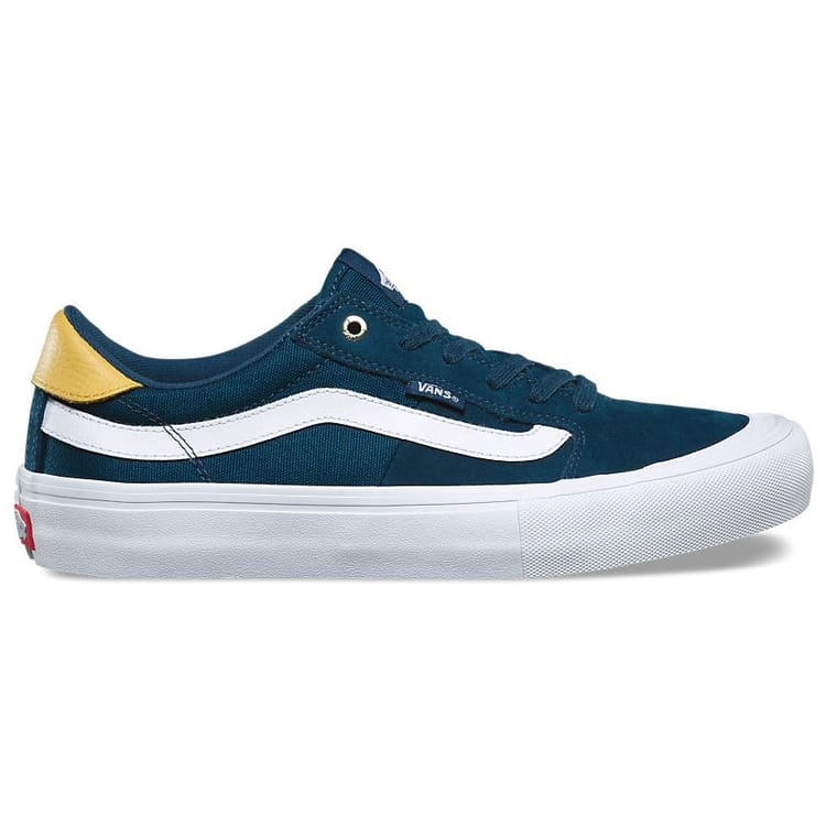 Vans Style 112 Pro Skate Shoes - Reflecting Pond/White