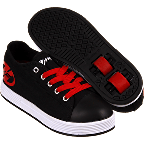 B-Stock B-Stock Heelys X2 Fresh - Black/Red - UK 2 (Box Damaged)