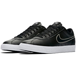 Nike SB Bruin Zoom PRM Skate Shoes - Black/Black/Metallic Pewter