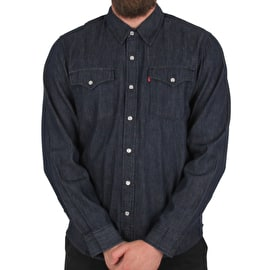 Levi's Western Long Sleeve Shirt - Western Rinse