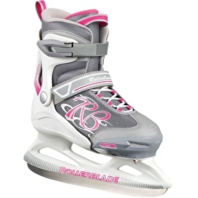 Rollerblade Comet Ice Skates - White/Pink