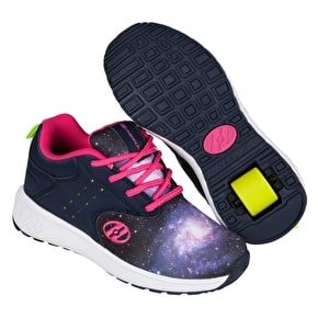 Heelys Velocity - Navy/Hot Pink/Galaxy