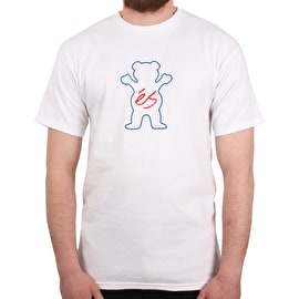 eS x Grizzly Deuce T shirt - White