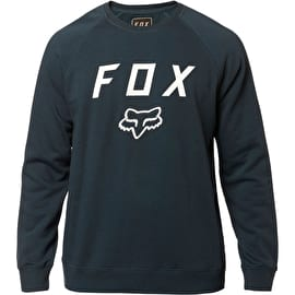 Fox Legacy Crew Fleece Jacket - Navy/White