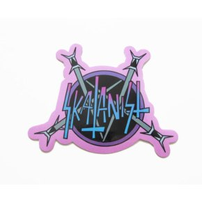 Skatanist- Heavy Metal Logo Sticker