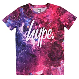 Hype Pink Galaxy T Shirt - Multi