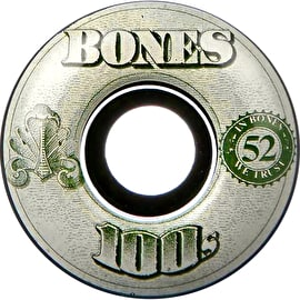 Bones OG 100'S #11 V5 Skateboard Wheels - Black
