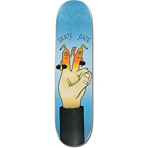 Toy Machine Skate Date Team Skateboard Deck - 8